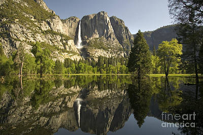 Yosemite National Park, California Print by Inga Spence