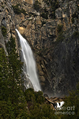 Photograph - Yosemite National Park Cascade Falls by Adam Jewell