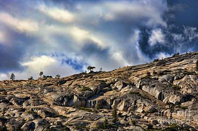 Photograph - Yosemite National Park Terrain Color California  by Chuck Kuhn