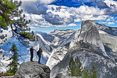 Yosemite Overlook Art Print by Dennis Cox WorldViews