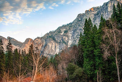 Photograph - Yosemite Park Landscape - California by Gregory Ballos