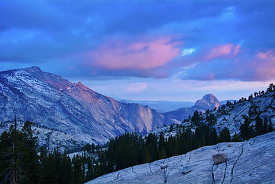 Photograph - Yosemite Pink Skies by Kyle Hanson