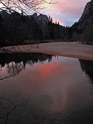 Photograph - Yosemite Reflections 01 2015 by Walter Fahmy