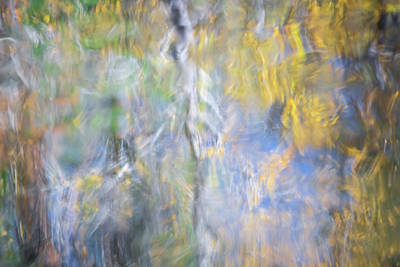 Abstract Moon Photograph - Yosemite Reflections 5 by Larry Marshall