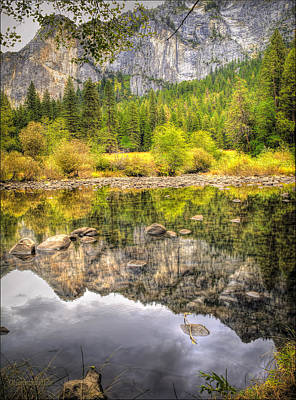 Photograph - Yosemite Reflections by LeeAnn McLaneGoetz McLaneGoetzStudioLLCcom
