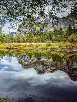 Photograph - Yosemite Reflections Right by LeeAnn McLaneGoetz McLaneGoetzStudioLLCcom
