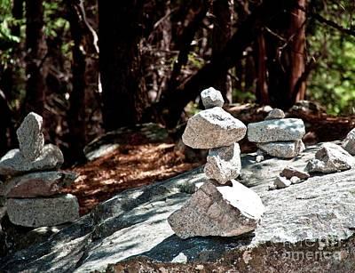 Yosemite Rock Art  Art Print