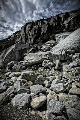 Photograph - Yosemite Rocks by Bonnie Bruno