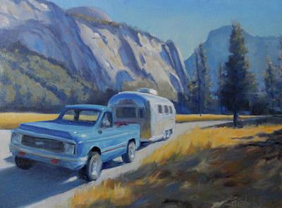 Yosemite Splendor Art Print