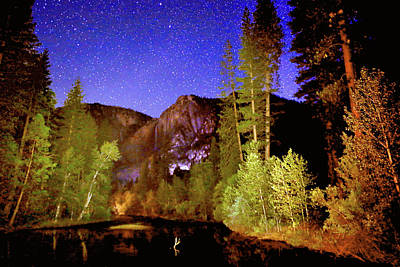 Photograph - Yosemite Starry Night by Patricia Sanders