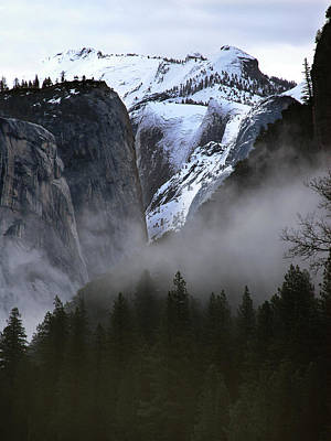 Photograph - Yosemite Storm by Art Shimamura
