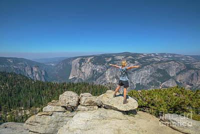 Photograph - Yosemite Summit Panorama by Benny Marty