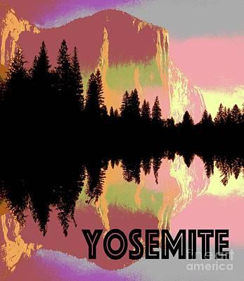Yosemite National Park Mixed Media - Yosemite  by Tony Craddock