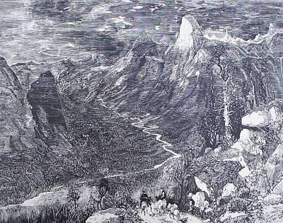 Painting - Yosemite by Tony Murray