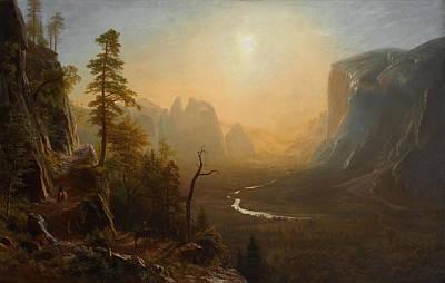 Yosemite Painting - Yosemite Trail - Glacier Point by Mountain Dreams