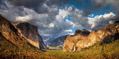 Photograph - Yosemite Tunnel View by Andrew Soundarajan