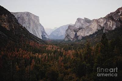 Yosemite Tunnel View Art Print by JR Photography