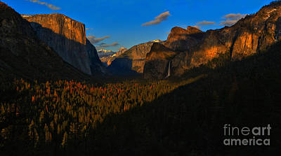 Photograph - Yosemite Tunnel View Panorama by Adam Jewell