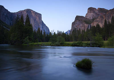 Veiled Photograph - Yosemite Twilight by Mike  Dawson