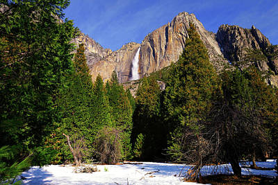 Photograph - Yosemite Upper Fall by Greg Norrell