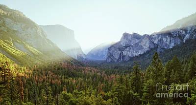 Photograph - Yosemite Valley Awakening by JR Photography