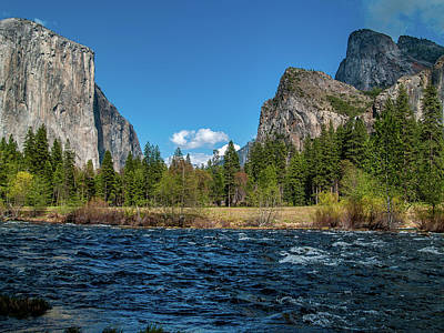 Photograph - Yosemite Valley by Bill Gallagher