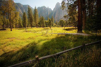 Photograph - Yosemite Valley by Bonnie Bruno