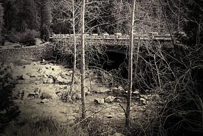 Yosemite Valley Bridge Print by Bonnie Bruno