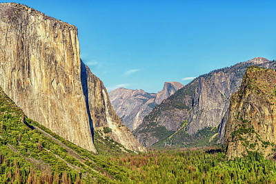 Photograph - Yosemite Valley Color 7r2_dsc2400_10072017 by Greg Kluempers