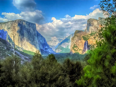 Photograph - Yosemite Valley by Don Mercer