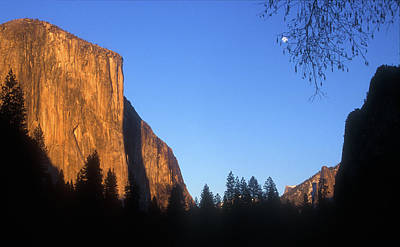 Photograph - Yosemite Valley Evening Light by John Burk