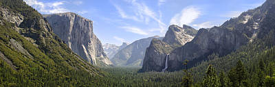 Mountain Rights Managed Images - Yosemite Valley Royalty-Free Image by Francesco Emanuele Carucci