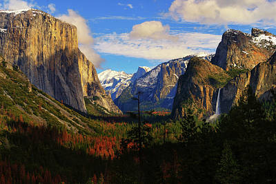 Yosemite Photograph - Yosemite Valley by Greg Norrell
