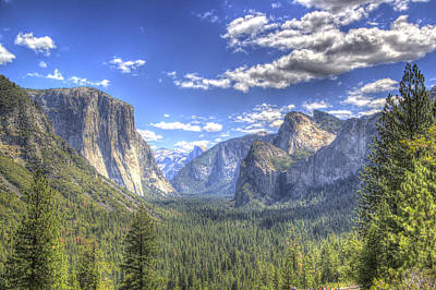 Photograph - Yosemite Valley Hdr by G Wigler