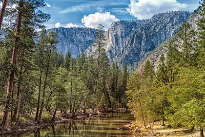 Photograph - Yosemite Valley by John M Bailey