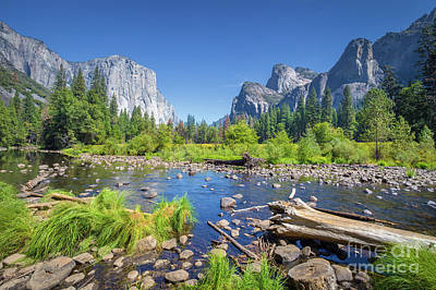 Photograph - Yosemite Valley by JR Photography