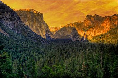 Photograph - Yosemite Valley by Kim Wilson