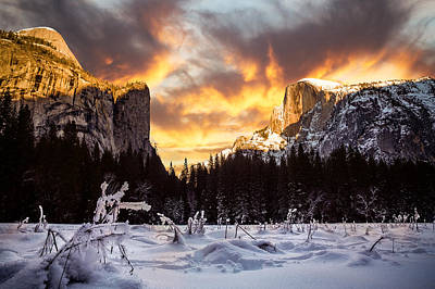 Photograph - Yosemite Valley by Kyle Simpson