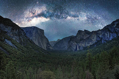 Photograph - Yosemite Valley by Marius Sipa
