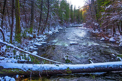 Yosemite Valley Merced River Print by Garry Gay