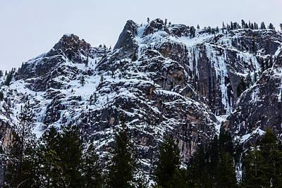 Yosemite Valley Mountains Art Print