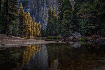 Yosemite Valley Reflections 1 Art Print