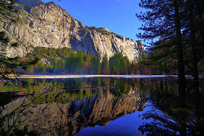 Photograph - Yosemite Valley Reflections by Greg Norrell