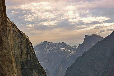 Photograph - Yosemite Valley - Tunnel View by Harvey Barrison