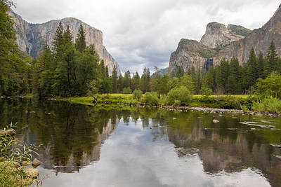 Photograph - Yosemite Valley View by Phil Stone