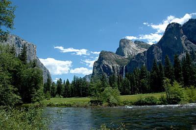 Stone Photograph - Yosemite Valley View X by LeeAnn McLaneGoetz McLaneGoetzStudioLLCcom