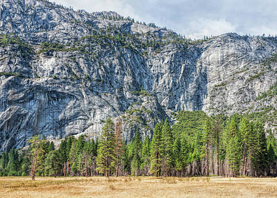 Photograph - Yosemite Valley Wall by John M Bailey