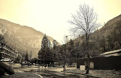 Photograph - Yosemite View Lodge B by Phyllis Spoor