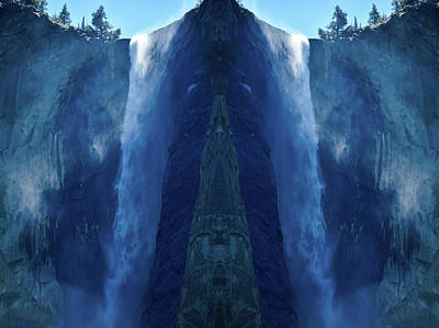 Photograph - Yosemite Waterfall Mirror by Kyle Hanson