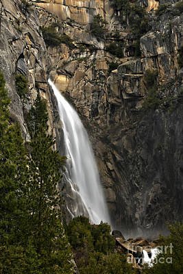 Photograph - Yosemite West Welcome Waterfall by Adam Jewell